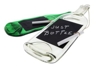 Notiz Flasche