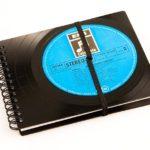 Vinyl Notizbuch