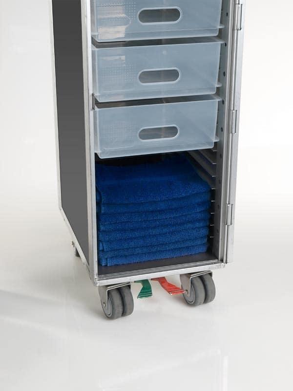 Schublade für Flugzeugtrolley