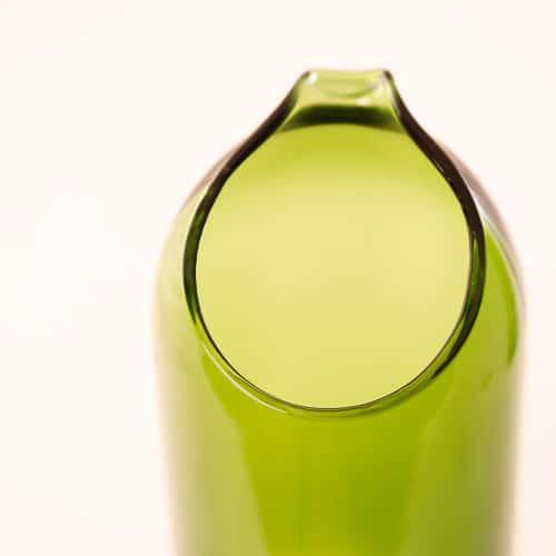 Karaffe aus Weinflasche