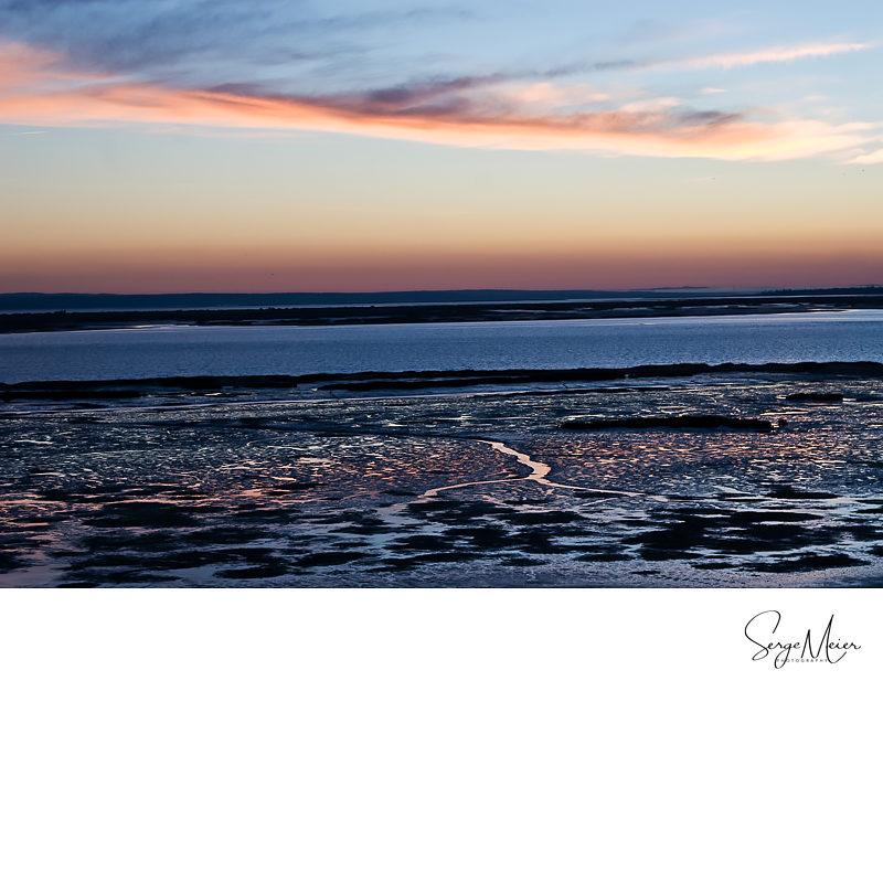 Sonnenaufgang Troia, Portugal