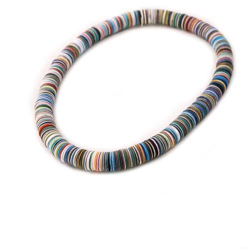 Papierschmuck Halsketten