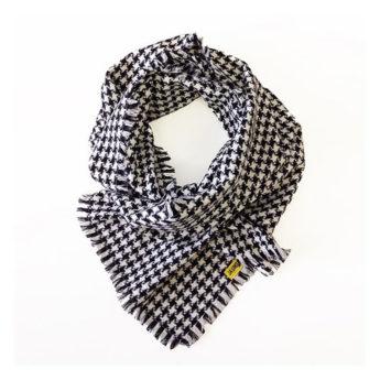 Coat Fashion oneway - pieddecoq-schwarzweiss