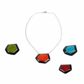 Halskette aus Tagua Nuss