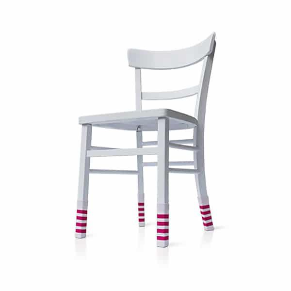 stuhlsocken pink gestreift just bottle. Black Bedroom Furniture Sets. Home Design Ideas