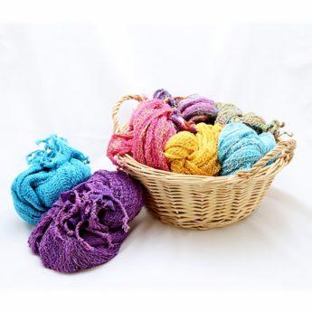 Schal aus Baumwolle