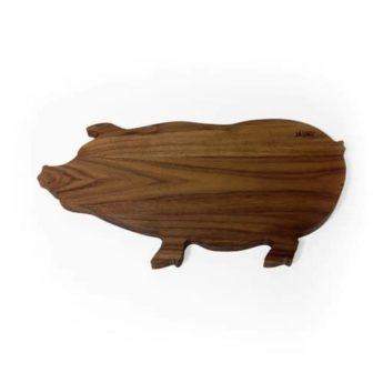 Schwein Holzbrett