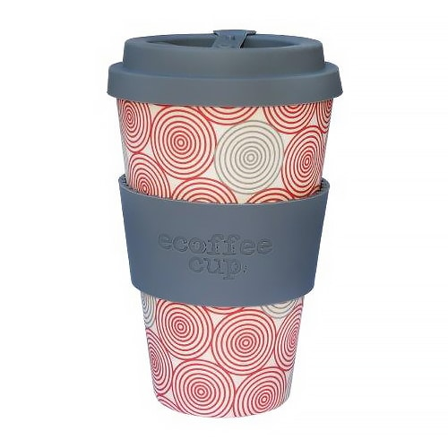 Becher aus Bambus Ecoffee Cup Swirl
