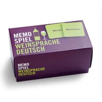 Memospiel Weinsprache