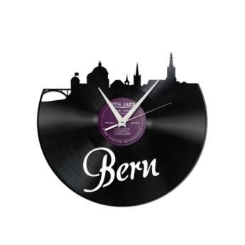 Schallplattenuhr Bern