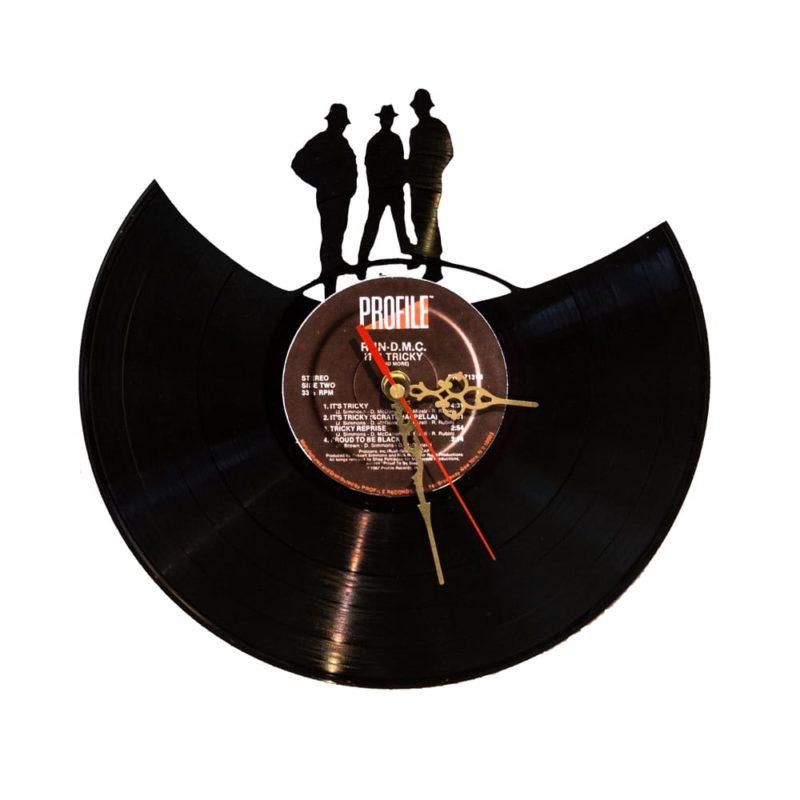 Schallplattenuhr Run D.M.C.