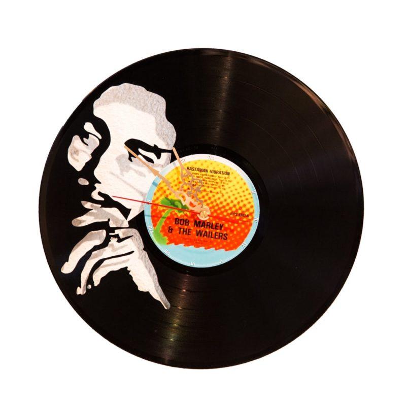 Schallplattenuhr Bob Marley
