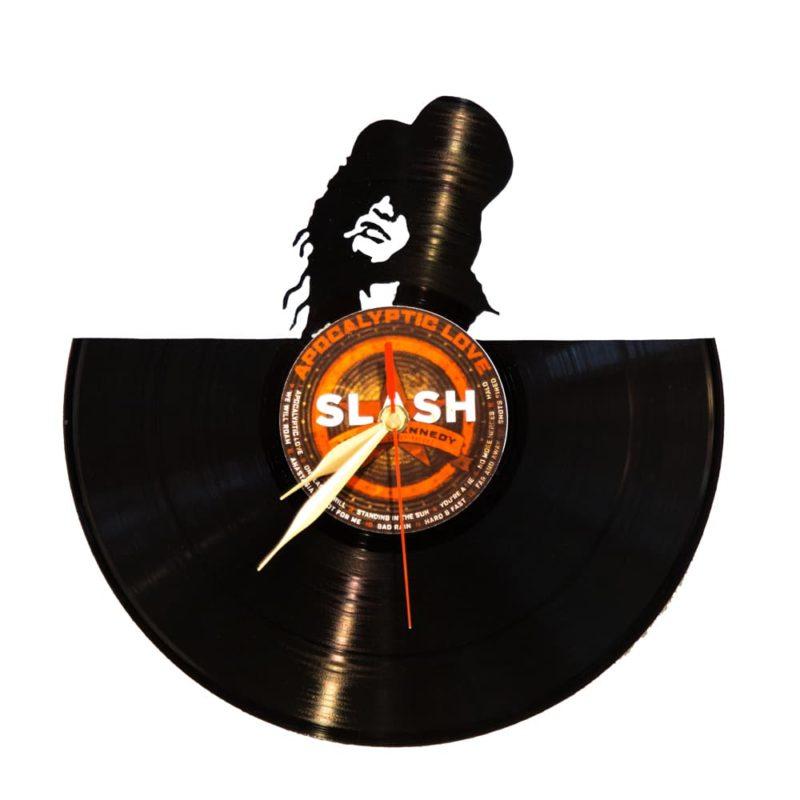 Schallplattenuhr Slash