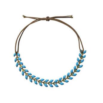 Armband Emaille Blau
