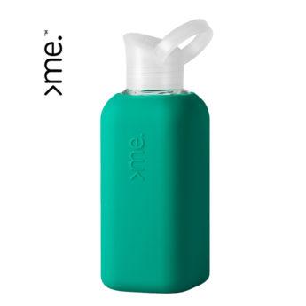 Glasflasche 0.5 L Grün von squireme