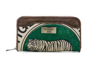 Portemonnaie - Cashy - Green Tiger