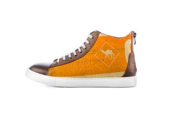 Sneaker - High Sneaky - Orange Camel