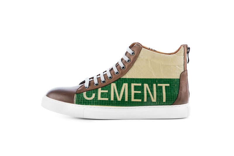Sneaker – High Sneaky – Green Tiger von ELEPHBO