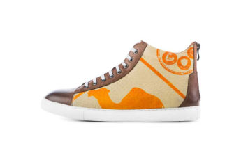 Sneaker - High Sneaky - Orange Camel
