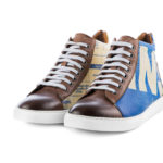 Sneaker – High Sneaky – Blue Eagle von ELEPHBO