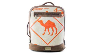 Rucksack - Multi - Orange Camel von ELEPHBO