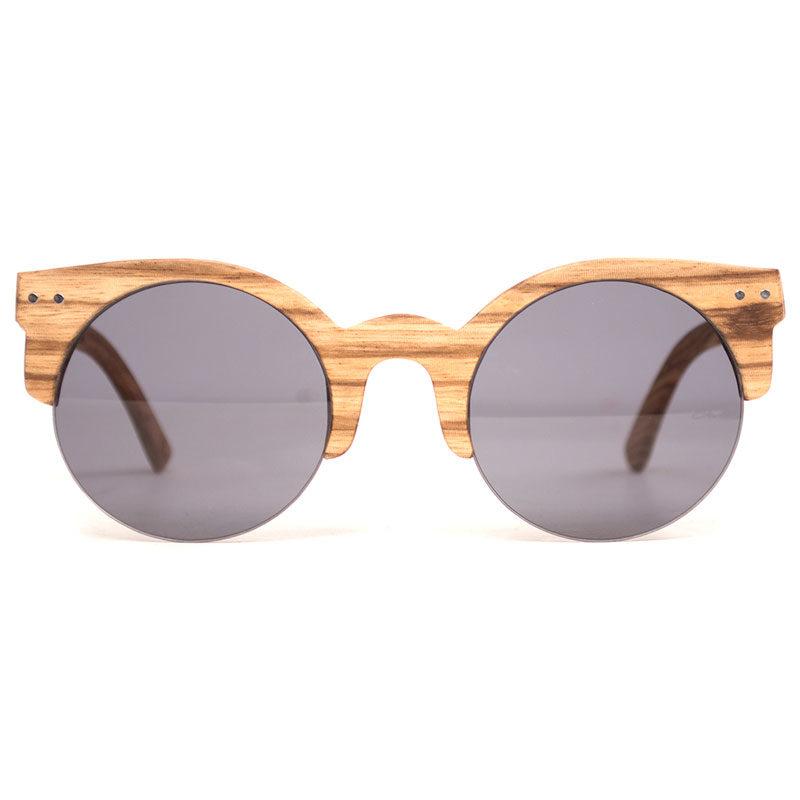 Sonnenbrille aus Zebraholz