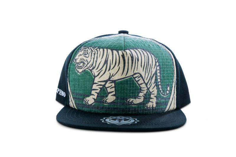Cap – Sunny Cotton – Green Tiger