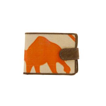 Portemonnaie - Quicky - Orange Camel von ELEPHBO