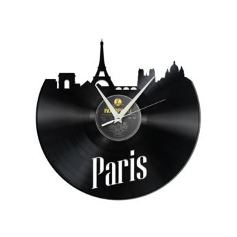 Schallplattenuhr Paris