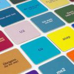 Memospiel Abkürzungen von Fidea Design